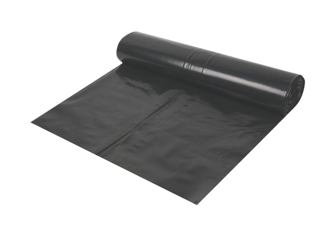 Image of Capital Valley Plastics Ltd Damp-Proof Membrane Black 1000ga 4 x 25m