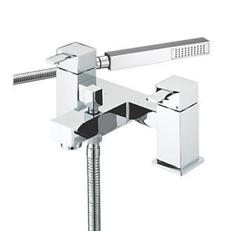 Image of Bristan Quadrato Dual Lever Bath/Shower Mixer Tap