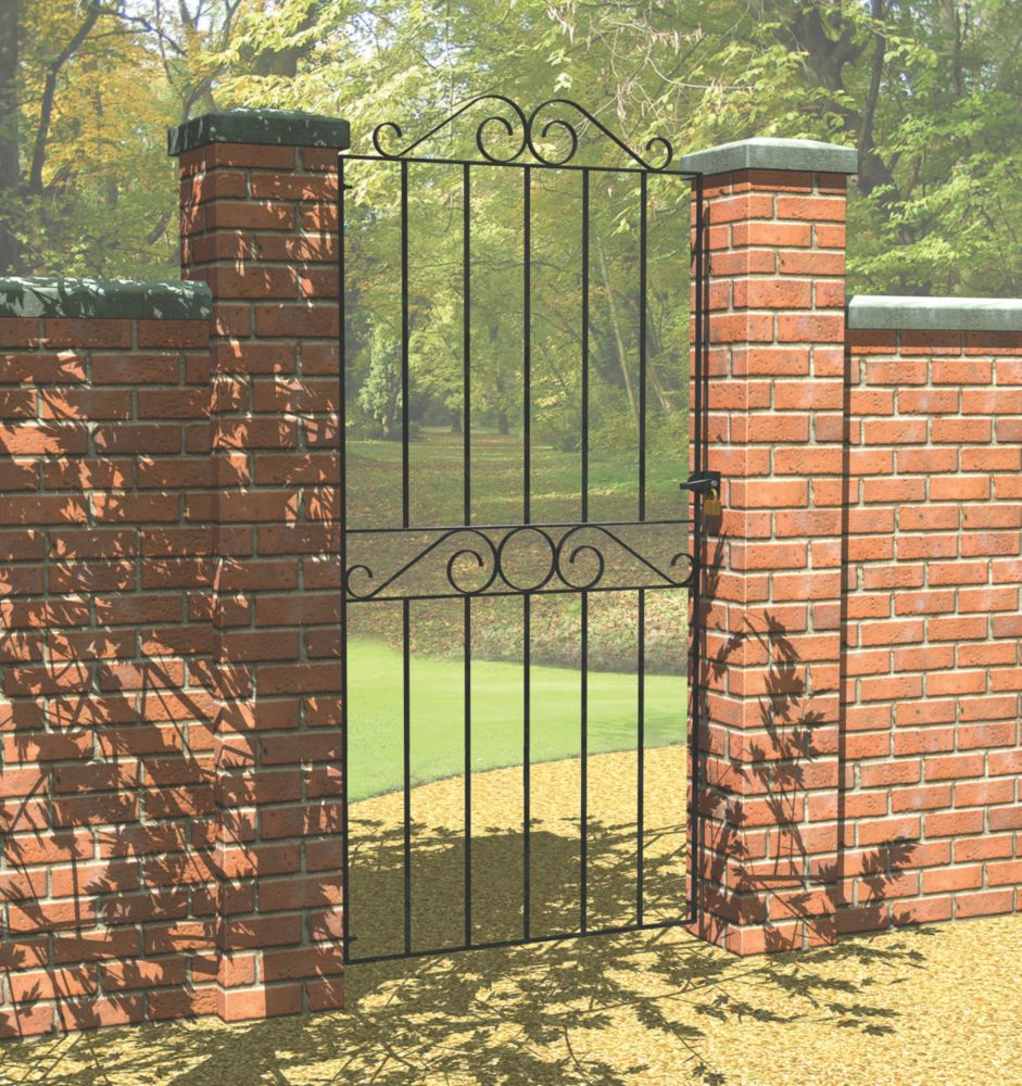 Image of Metpost Ironbridge Gate Zinc-Plated 810 x 1800mm