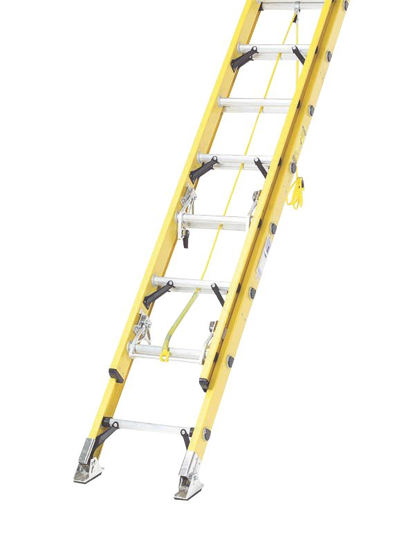 Image of 1119-004 Double Extension Fibreglass Ladder 2 x 10 Max. Height 5.0m