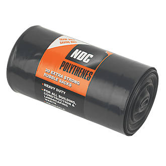 Image of NDC Polythenes Rubble Sacks 30 Pack