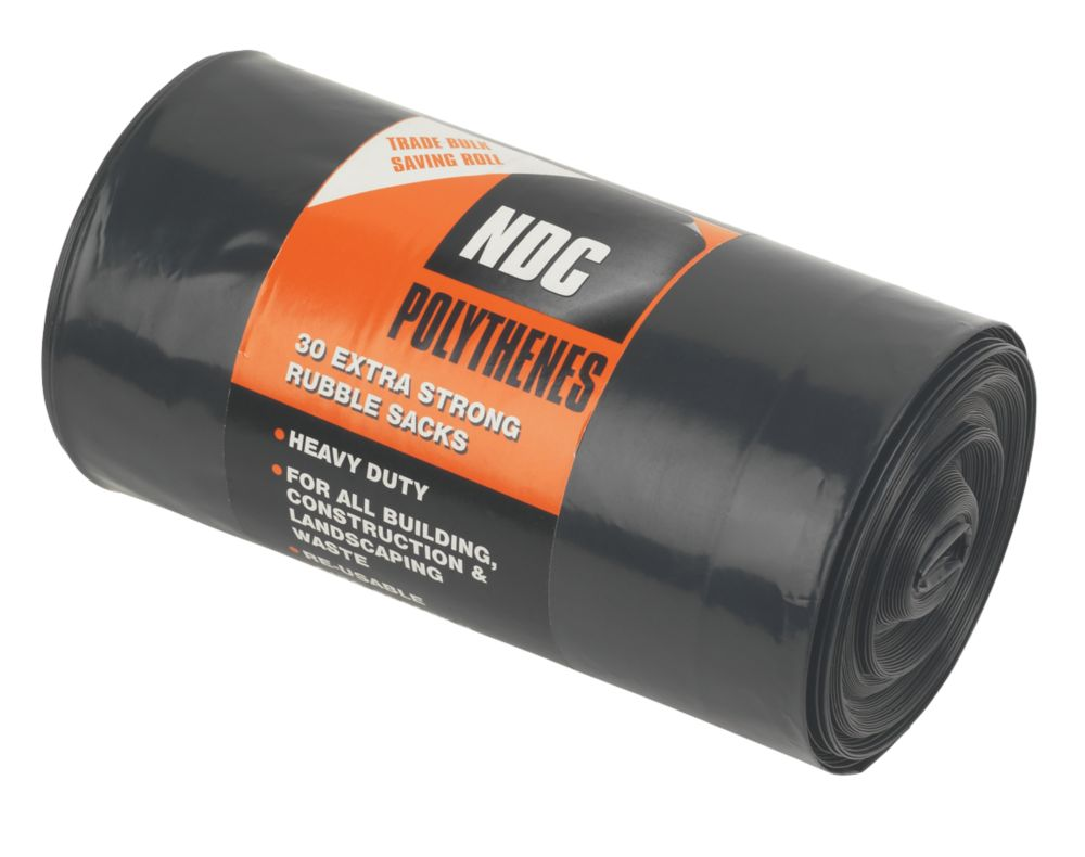 Image of Rubble Sacks Roll Pack of 30