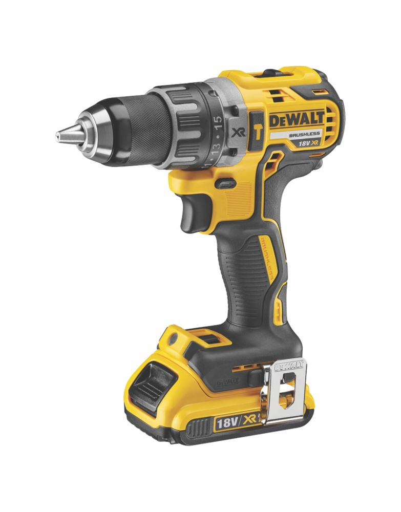 Image of DeWalt DCD791D2-GB 18V 2.0Ah Li-Ion Brushless Drill Driver