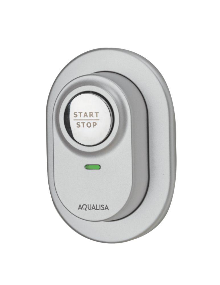 Image of Aqualisa Visage Digital Remote Shower Switch Satin Chrome 92mm