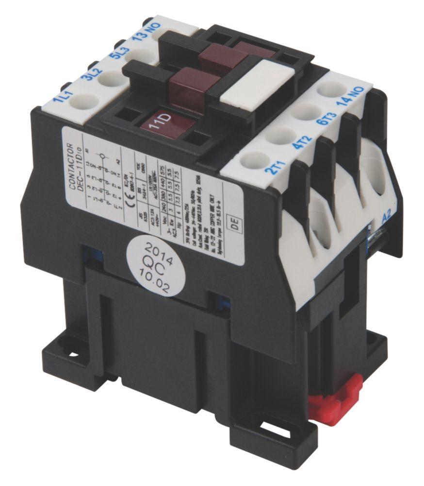 Image of Hylec DEC 3-Pole Contactor Unit 5.5kW