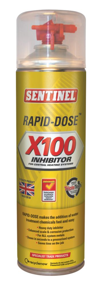 Image of Sentinel Rapid Dose X100 Inhibitor 400ml