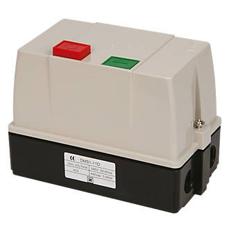 Image of Hylec DMS1-11D/S Automatic DOL Electric Motor Starter 5.5kW