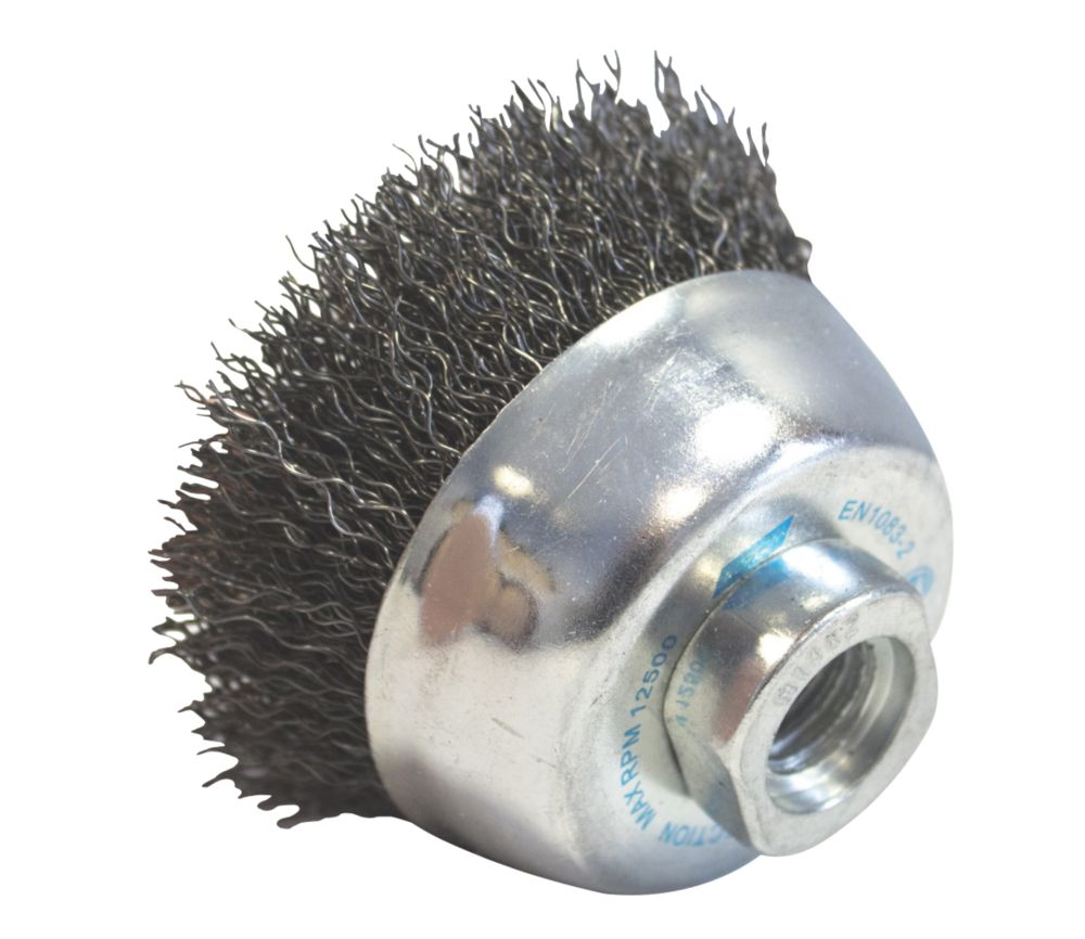 Image of Norton Expert Crimped Cup Brush 75mm