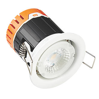 Image of Enlite E5 Fixed Fire Rated LED Downlight Without Bezel 420lm 4.5W 220-240V