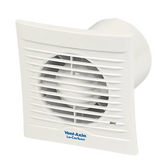 Image of Vent-Axia 100B 6-8.7W Bathroom Extractor Fan White 240V