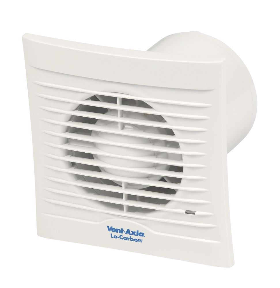 Image of Vent-Axia 100B 15W Bathroom Extractor Fan White 240V