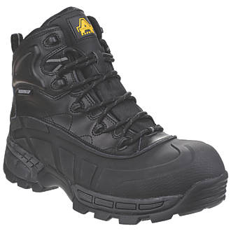 Image of Amblers 430 Orca Safety Boots Black Size 8