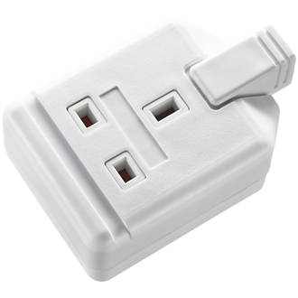 Image of Masterplug 13A 1-Gang Rewireable Socket White