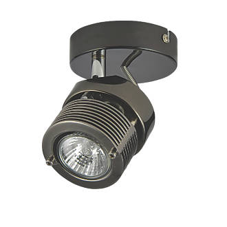 Image of Inlight 1-Light Spotlight Black Chrome 240V