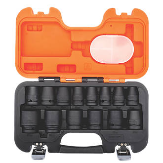 """Image of Bahco 1/2"""" Drive Impact Socket Set 14 Pieces"""