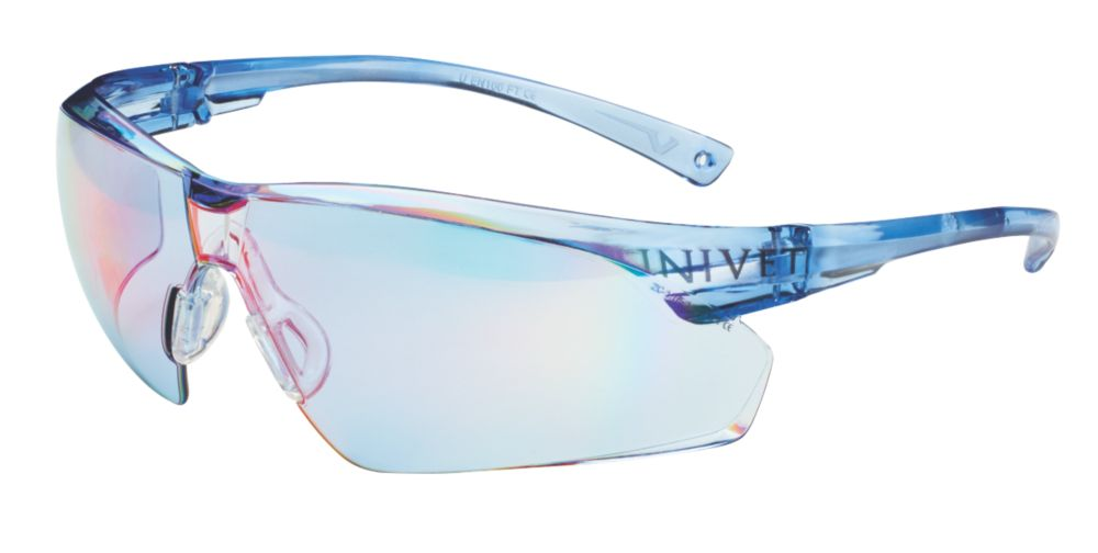 Image of Univet 505U Blue Lens Safety Specs
