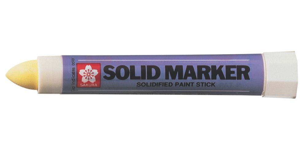 Image of Sakura Yellow Solidified Paint Permanent Marker
