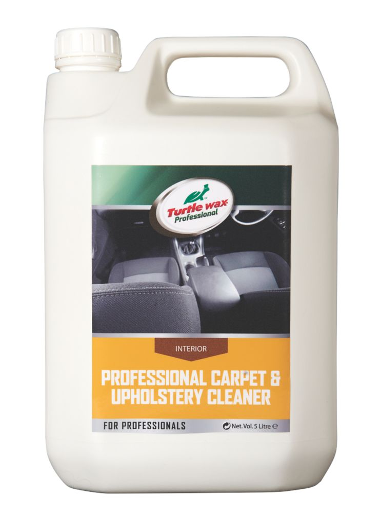 Image of Turtle Wax Carpet & Upholstery Cleaner 5Ltr