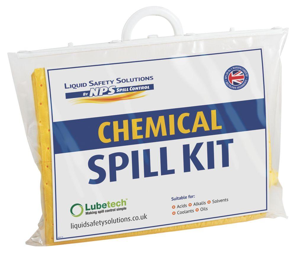 Image of Lubetech 20Ltr Black & White Chemical Spill Response Kit