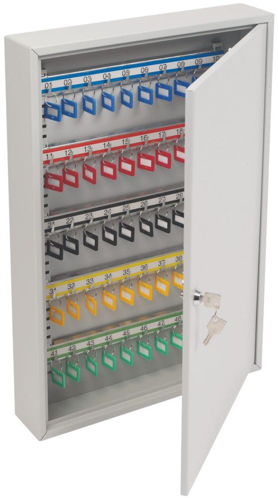Image of Smith & Locke 100-Hook Heavy Duty Mechanical Key Cabinet Safe