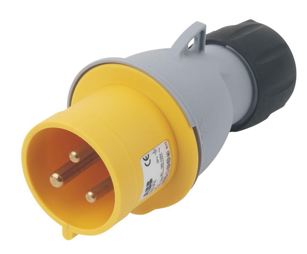 Image of ABB Straight Plug 32A 2P+E 110V 4H IP44