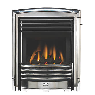 Image of Valor Petrus Silver Inset Gas Fire
