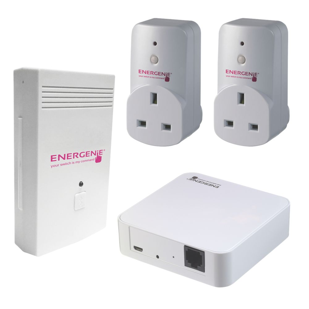 Image of Energenie Energy Monitor Socket & Gateway Set