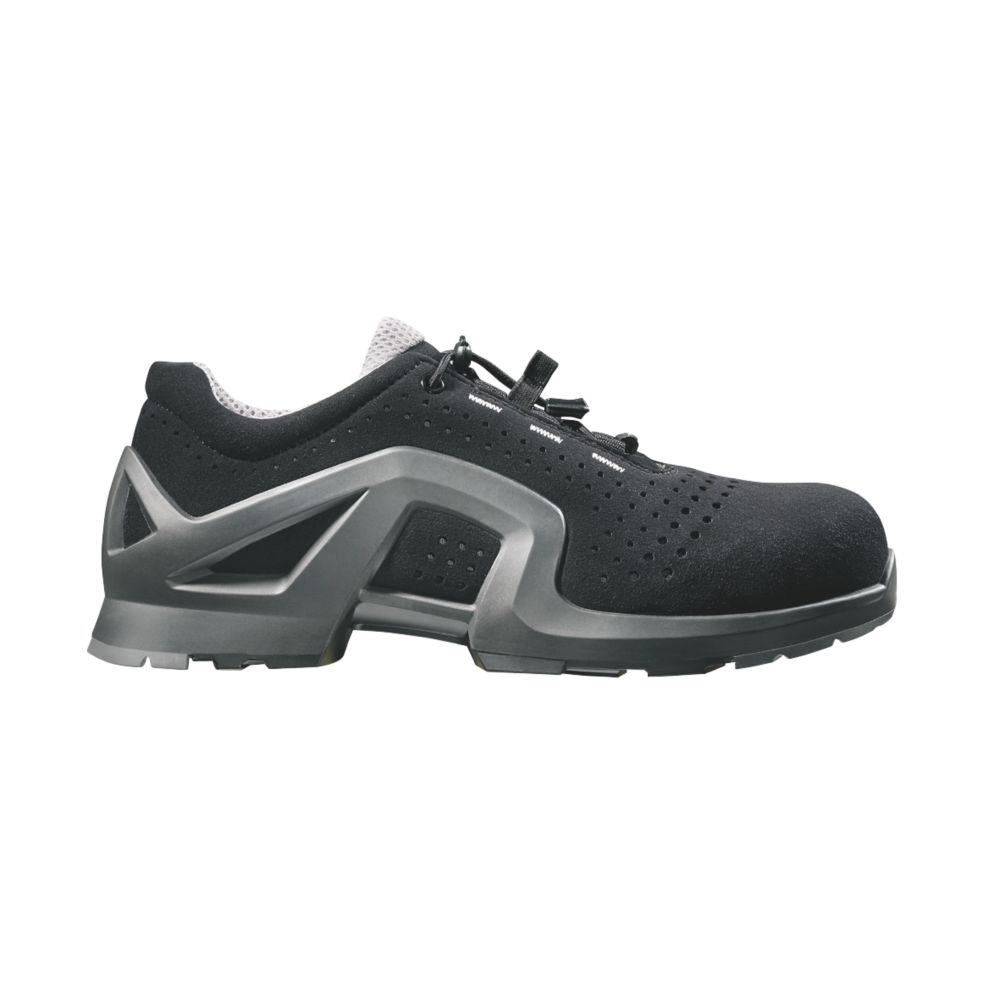 Image of Uvex 1 Safety Trainers Black / Grey Size 10