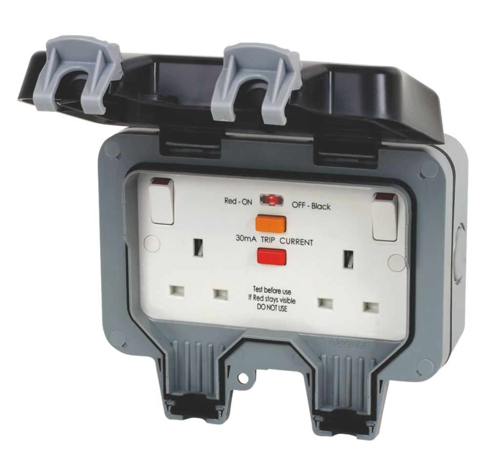 Image of BG 13A 2G RCD Switched Socket