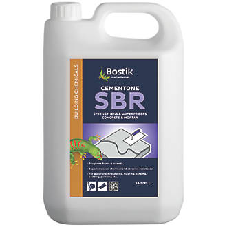 Image of Cementone SBR Admixture White 5Ltr