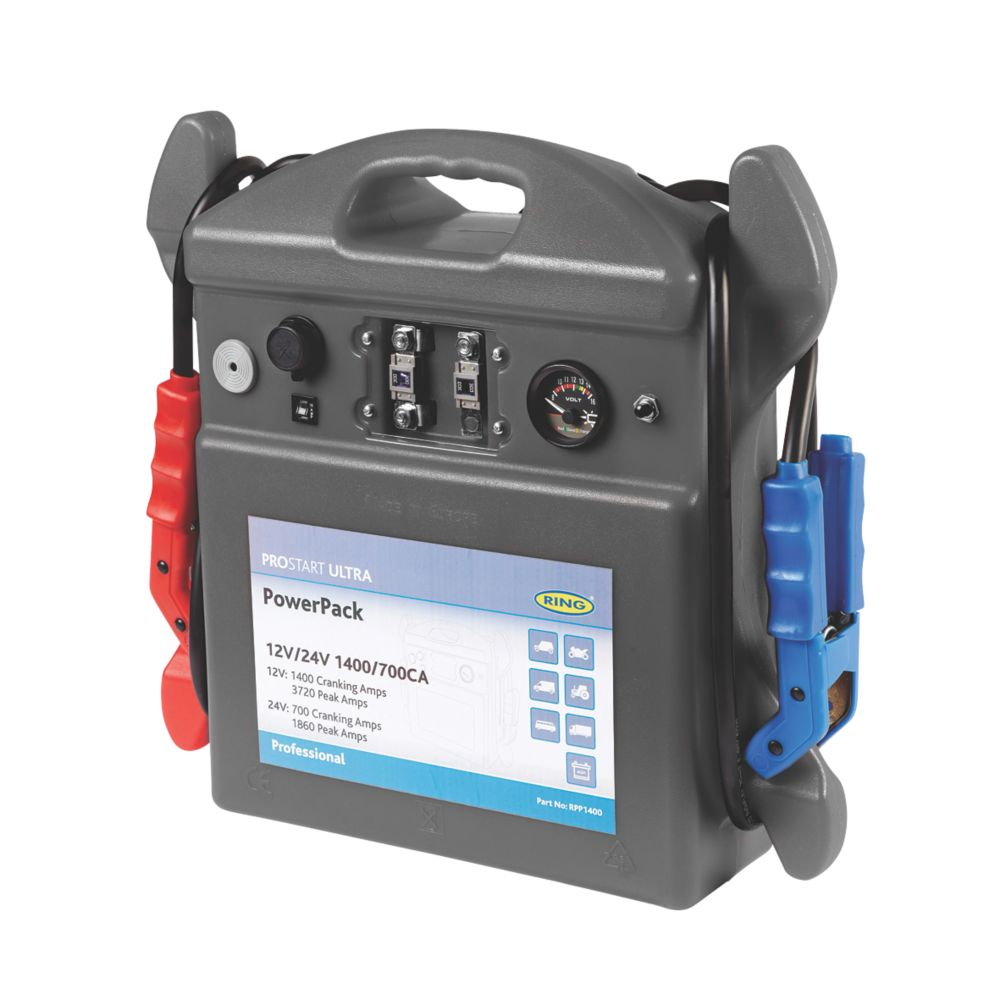 Image of Ring 44Ah Prostart Ultra Jump Starter 12 / 24V
