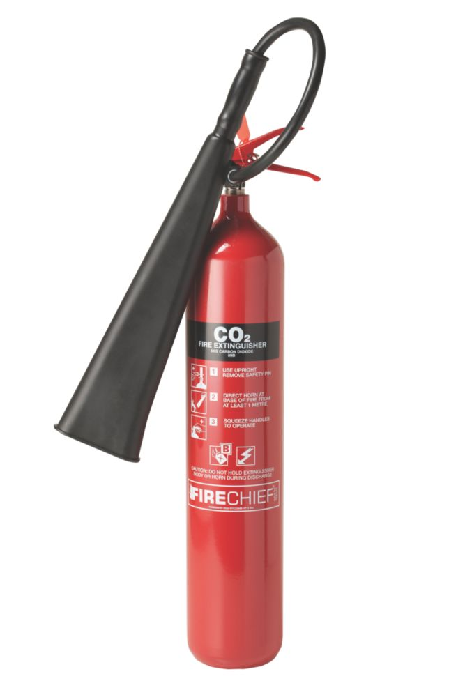 Image of Firechief Carbon Dioxide Fire Extinguisher 5kg