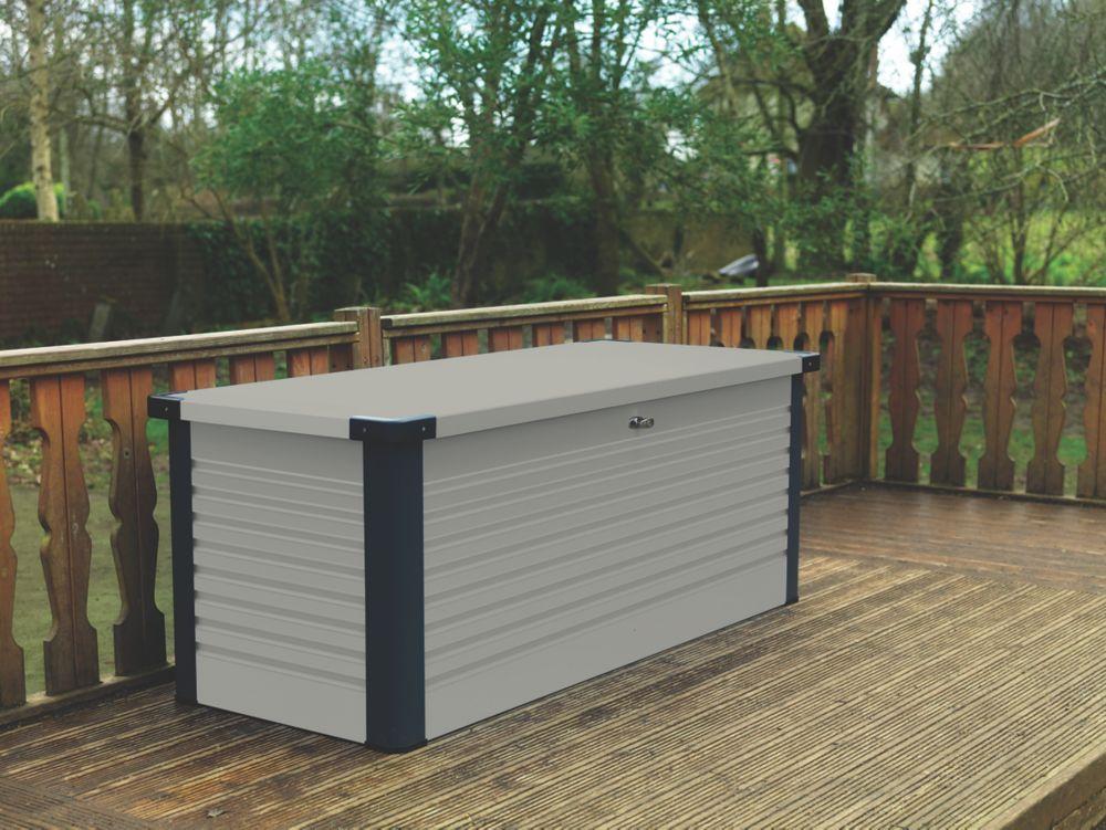 "Image of Trimetals Patio Box 6' 0 x 2' 6 x 2' 6"" Light Grey"