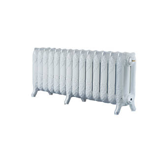 Image of Arroll 3-Column Cast Iron Radiator 470 x 1154mm White