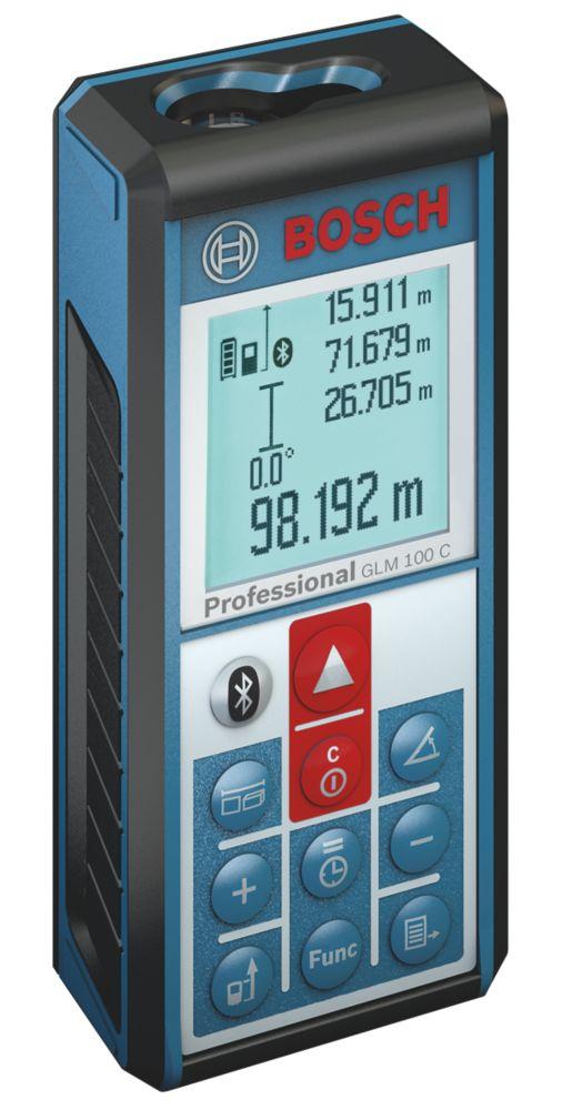 Image of Bosch GLM100C Laser Rangefinder