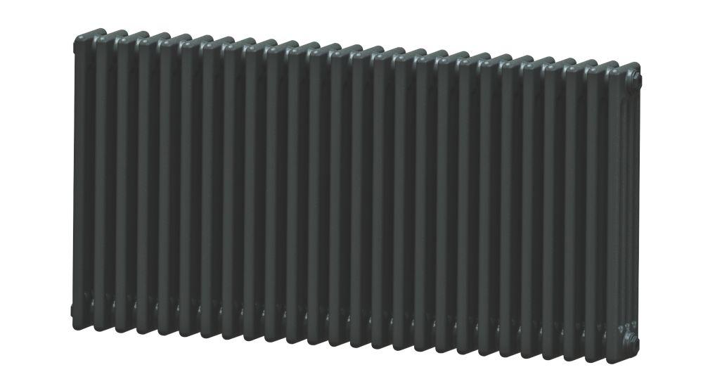Image of Acova 4-Column Horizontal Radiator 600 x 1226mm Volcanic