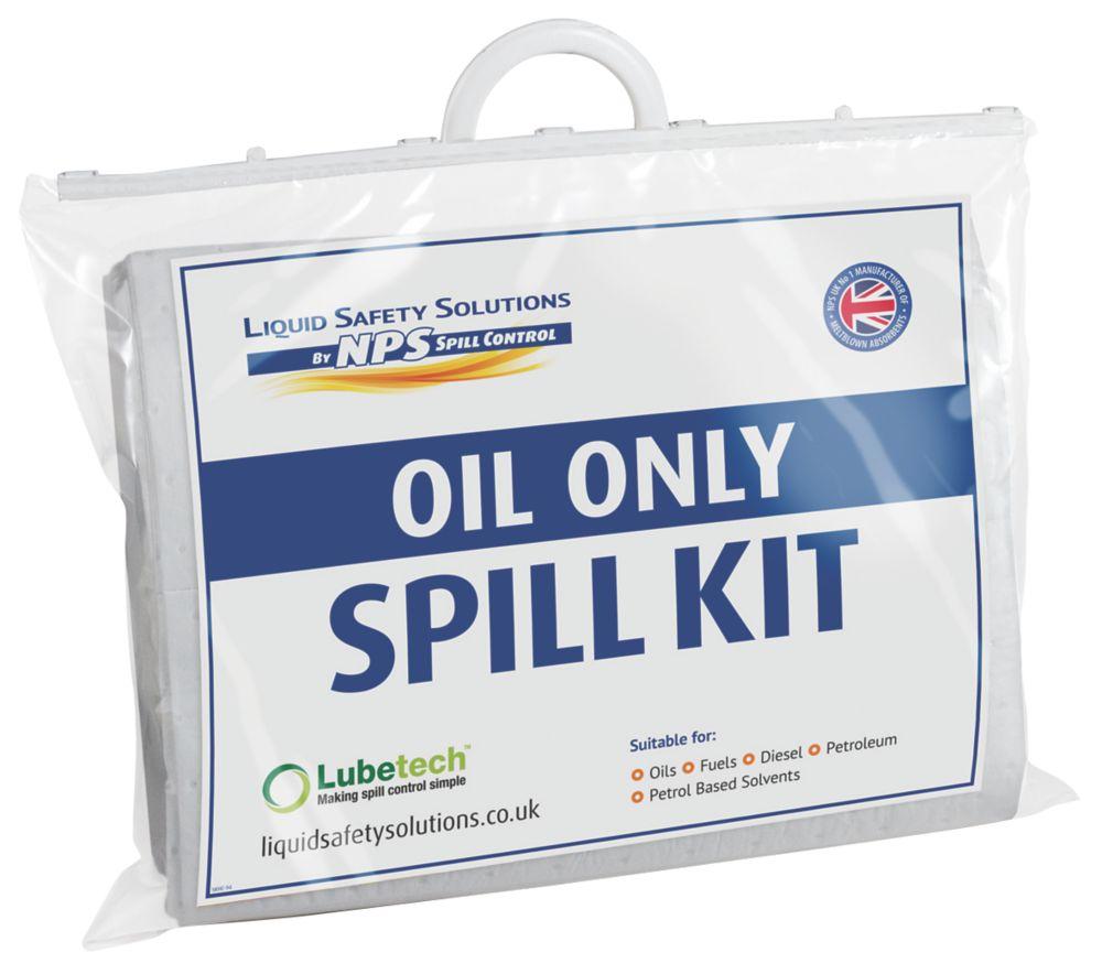 Image of Lubetech 20Ltr Black & White Oil Spill Response Kit
