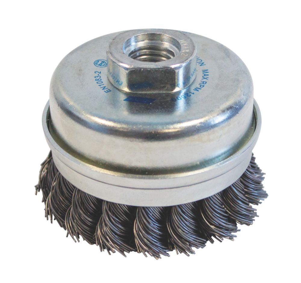 Image of Norton Expert Twist Knotted Cup Brush 75mm