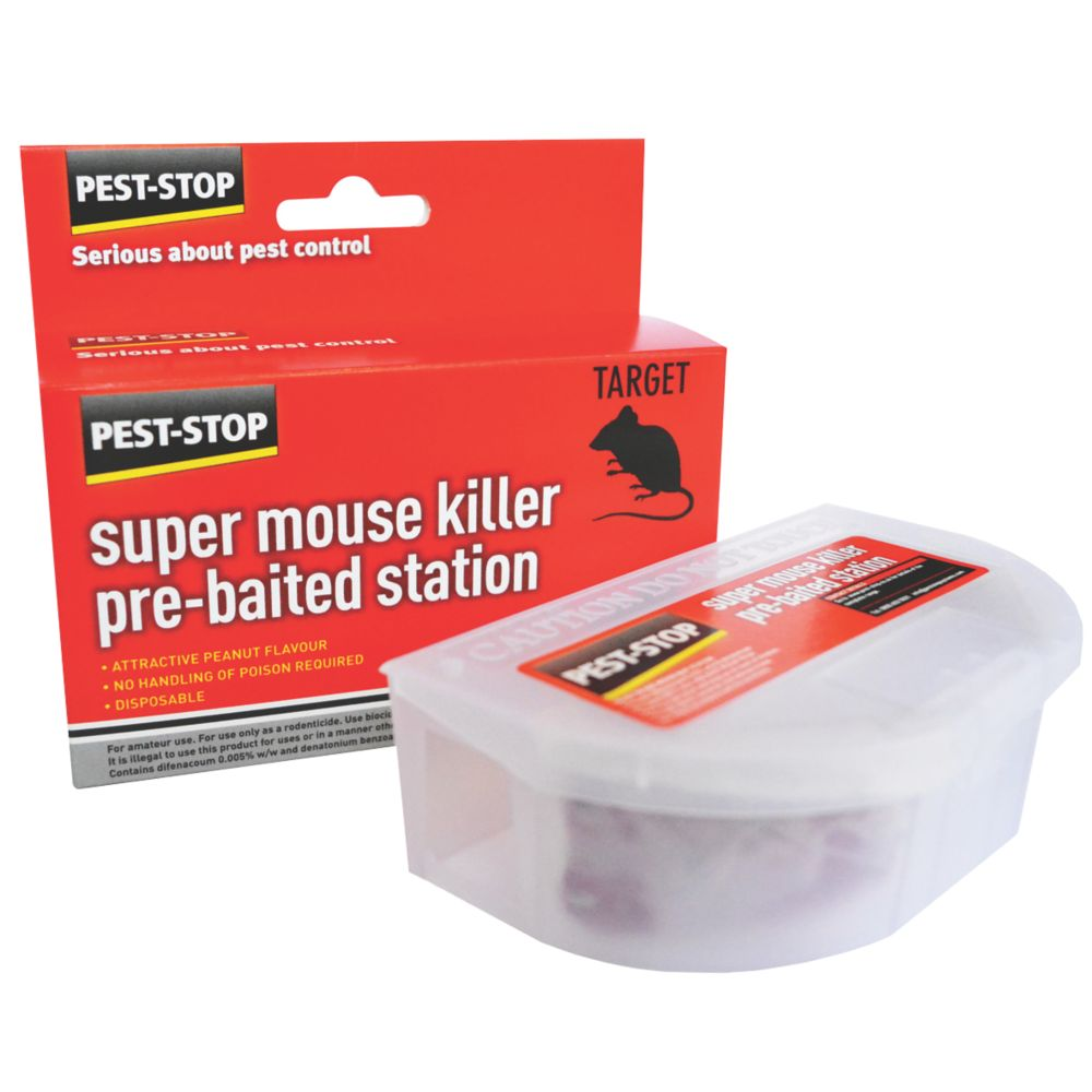 Image of Pest-Stop Pre-Baited Mouse Bait Station