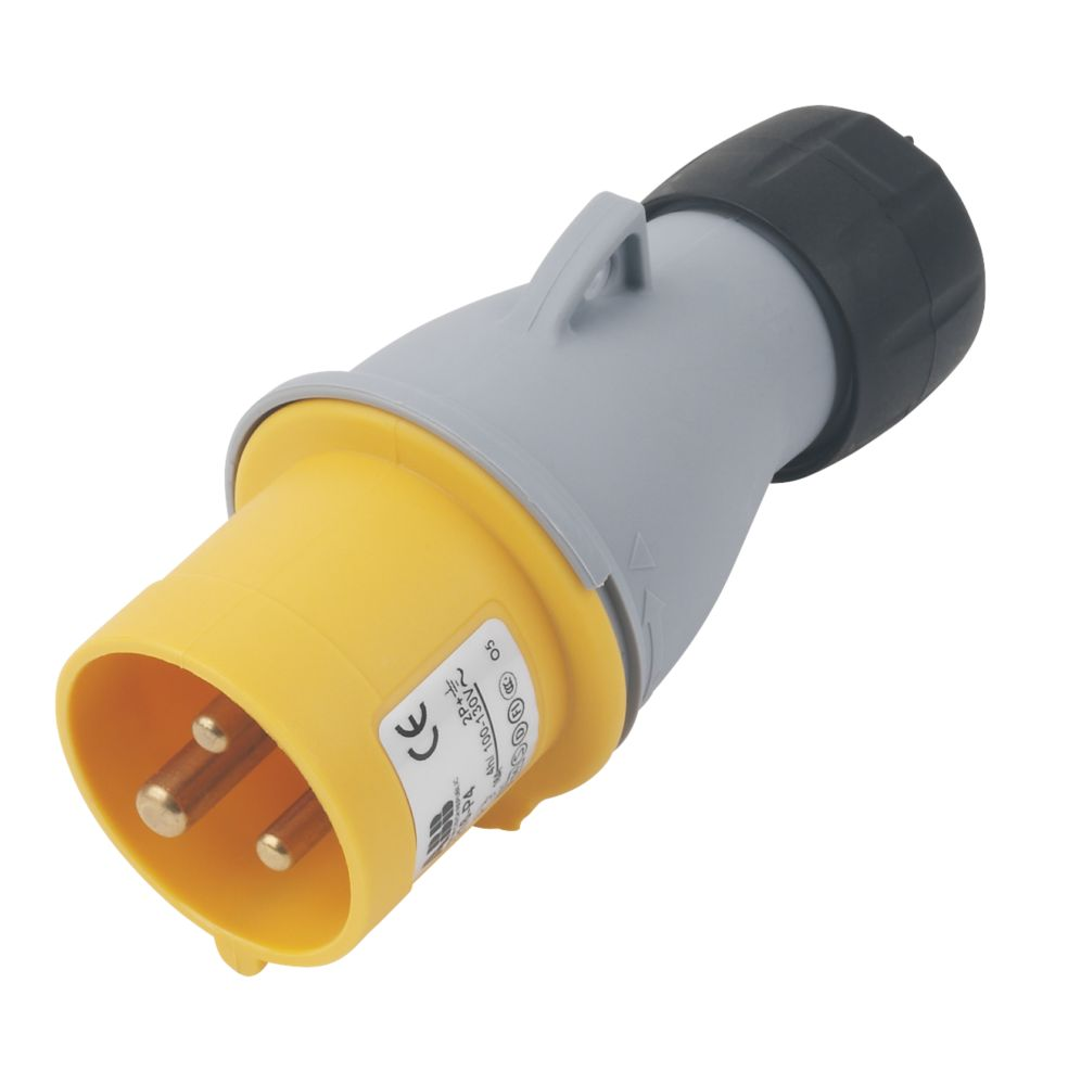 Image of ABB Straight Plug 16A 2P+E 110V 4H IP44