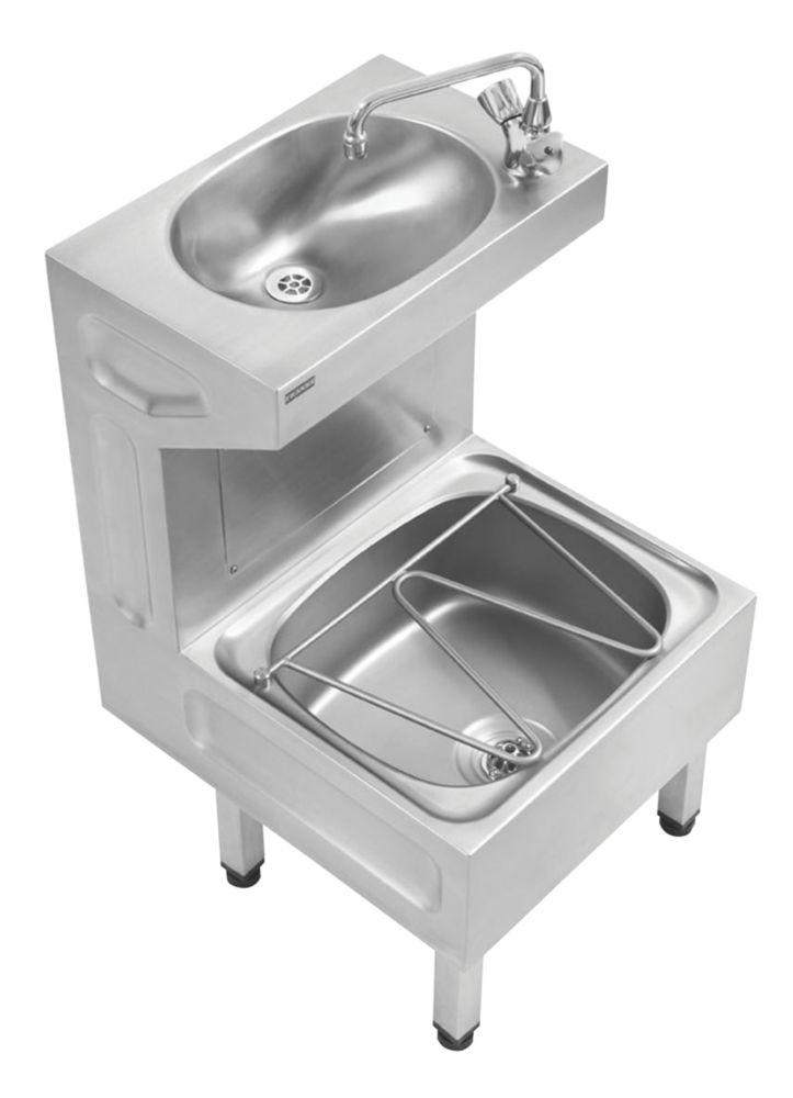 Image of Franke Centinel Janitorial Unit with Tap & PEX Hoses 1 Tap Hole 500mm
