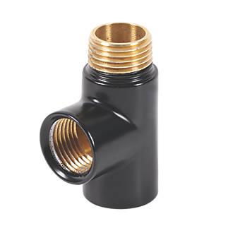 Image of Terma Brass BSP Equal T-Piece 15mm
