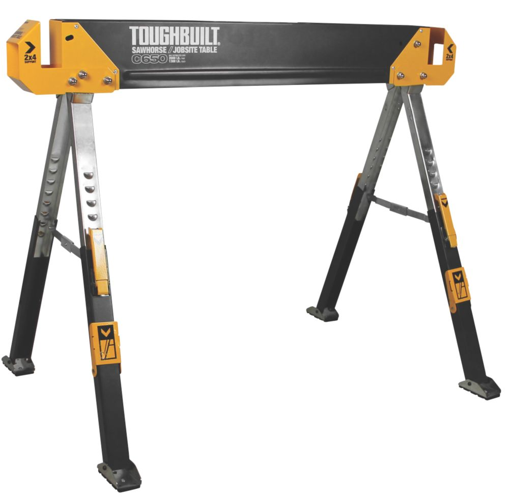 Image of Toughbuilt T/BC650 All-Metal Saw Horse