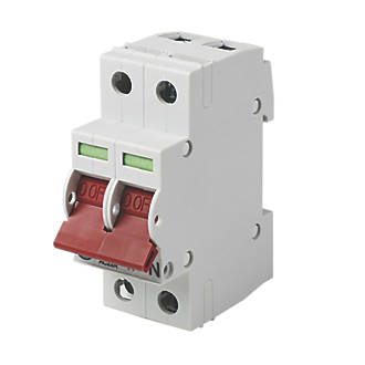 Image of Wylex 125A DP Main Switch Disconnector Incomer