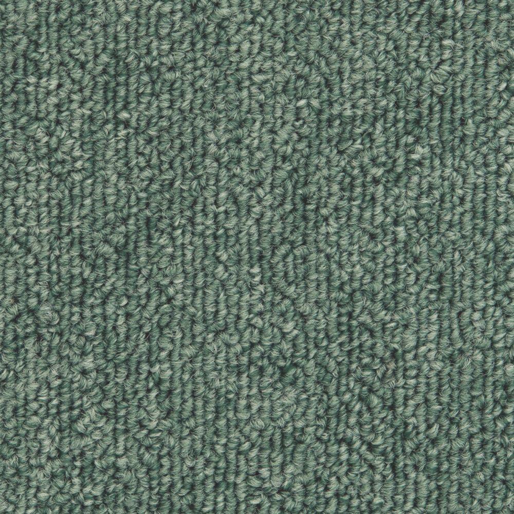 Image of Distinctive Flooring Trident Carpet Tiles Green 20 Pcs
