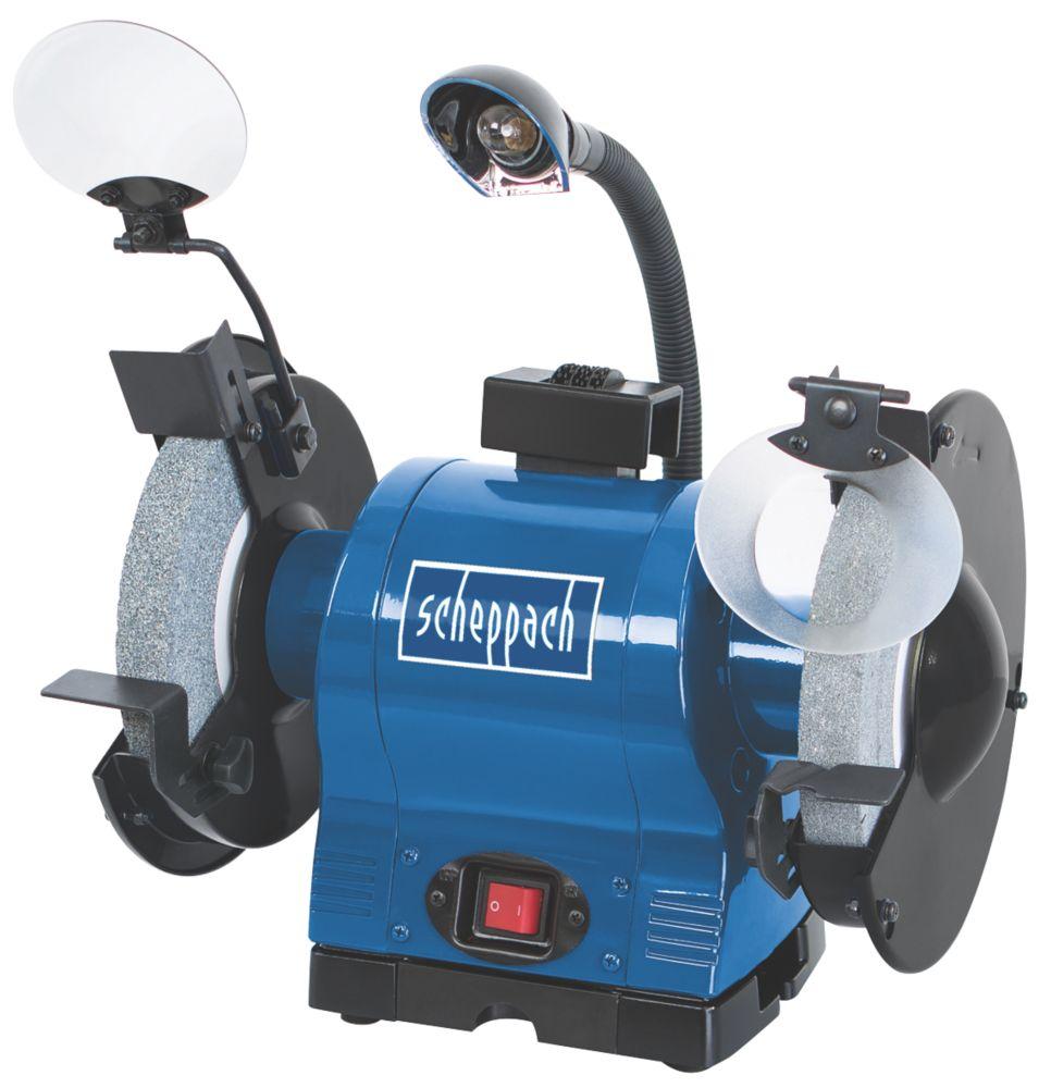 Image of Scheppach BG 200 200mm Bench Grinder 230V