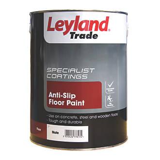 Image of Leyland Trade Anti-Slip Floor Paint Slate 5Ltr