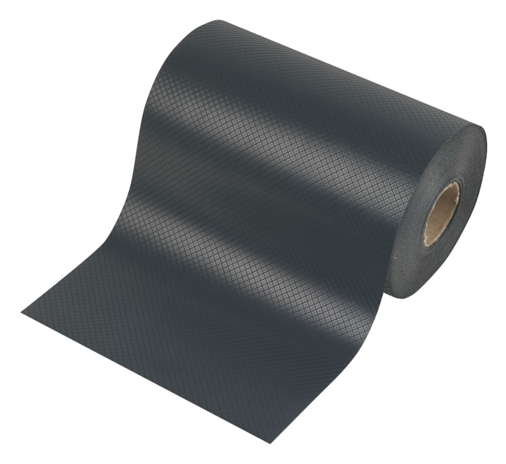 Image of Capital Valley Plastics Ltd Damp-Proof Course Black 300mm x 30m