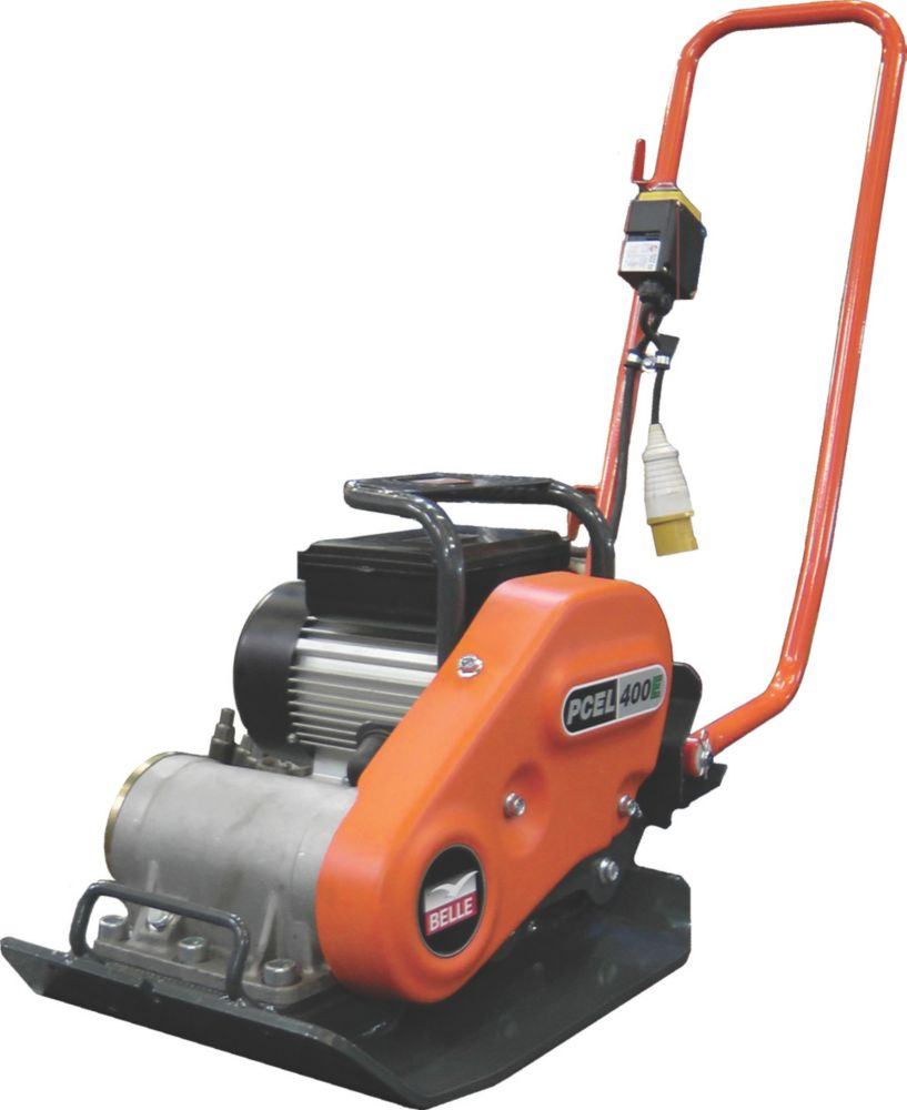Image of Belle Group PCEL 400E Electric Plate Compactor 550W 230V 428 x 380mm