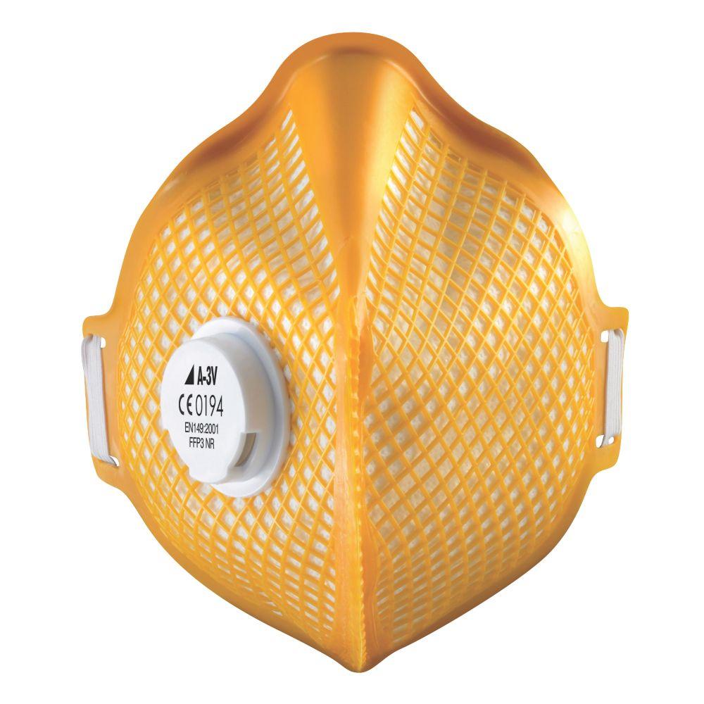 Image of Alpha Solway Alphamesh A-3V Fold Flat Masks P3 20 Pack